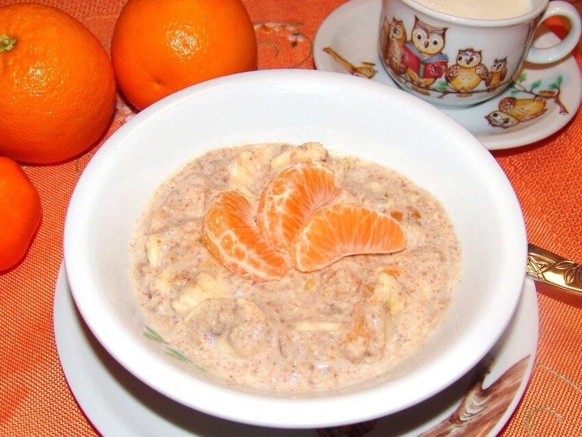 Milch-Getreide-Brei